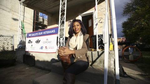 Comcast Joins 'Rebuilding Together,' HGTV/DIY Network for Veterans Day Remodel