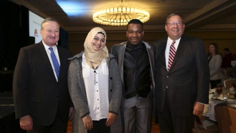 Comcast Awards Two Philadelphia Students $5,000 Scholarships at Annual Mayoral Luncheon