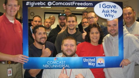 United Way: Comcast's First Community Partner