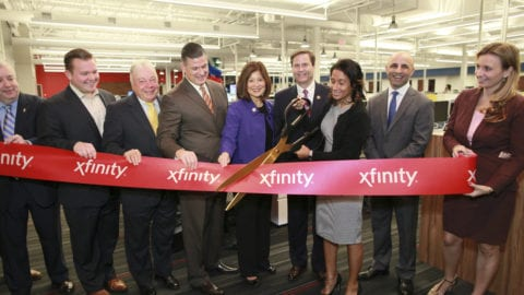 Comcast Unveils High-Tech Center of Excellence in Camden County