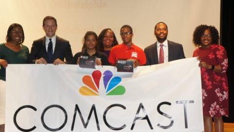 Comcast 'Adopts' 100+ School of the Future Freshmen