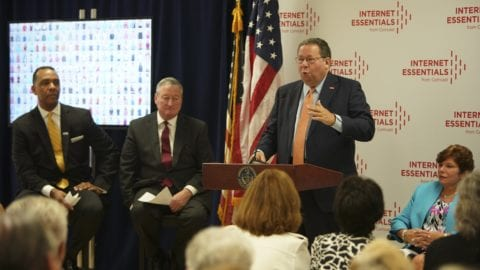 Comcast's Internet Essentials Program, Attorney General Josh Shapiro, Philadelphia Mayor James Kenney, NBC10 and Telemundo62 Join Forces to Promote Internet Safety for Seniors, Parents and Children