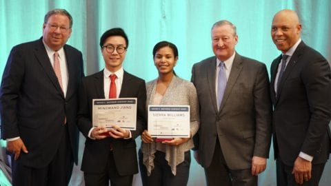 Honoring Philadelphia's Best and Brightest Youth with College Scholarships
