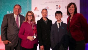 Comcast NBCUniversal Awards Two Philadelphia Students $5,000 Scholarships at Annual Mayoral Luncheon