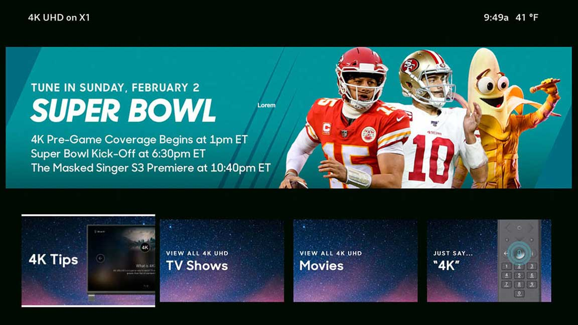 4K Super Bowl Tips